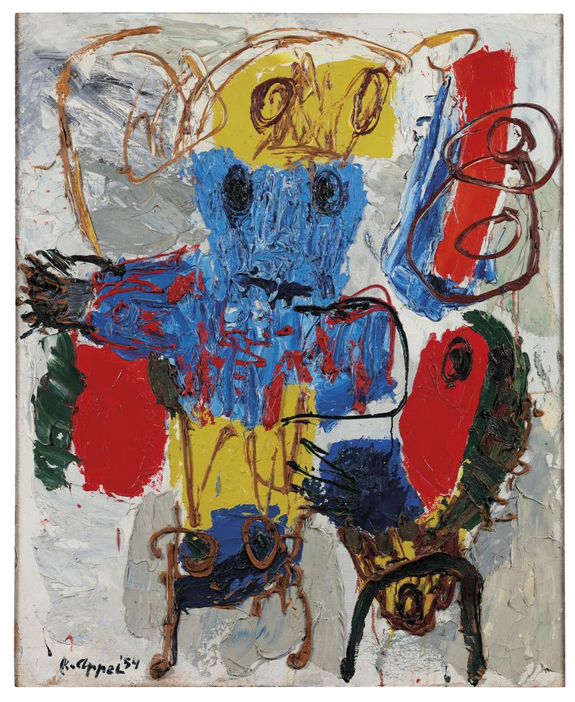 Karel Appel-Composition-1954
