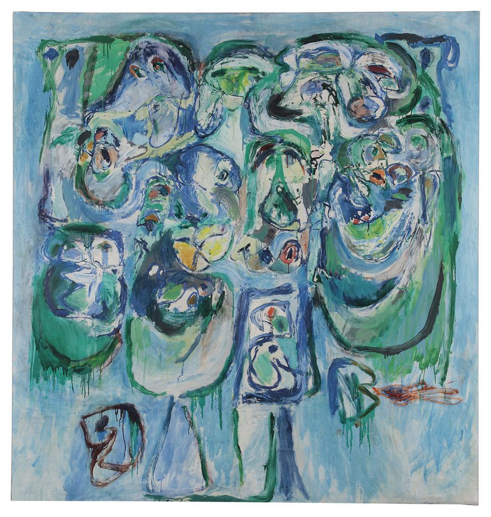Pierre Alechinsky-Soutien De Famille (Provider)-1960