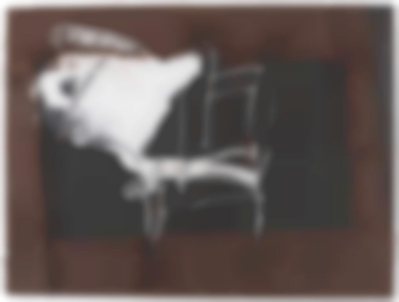 Antoni Tapies-Cadira I Blanc (Chair And White)-1999