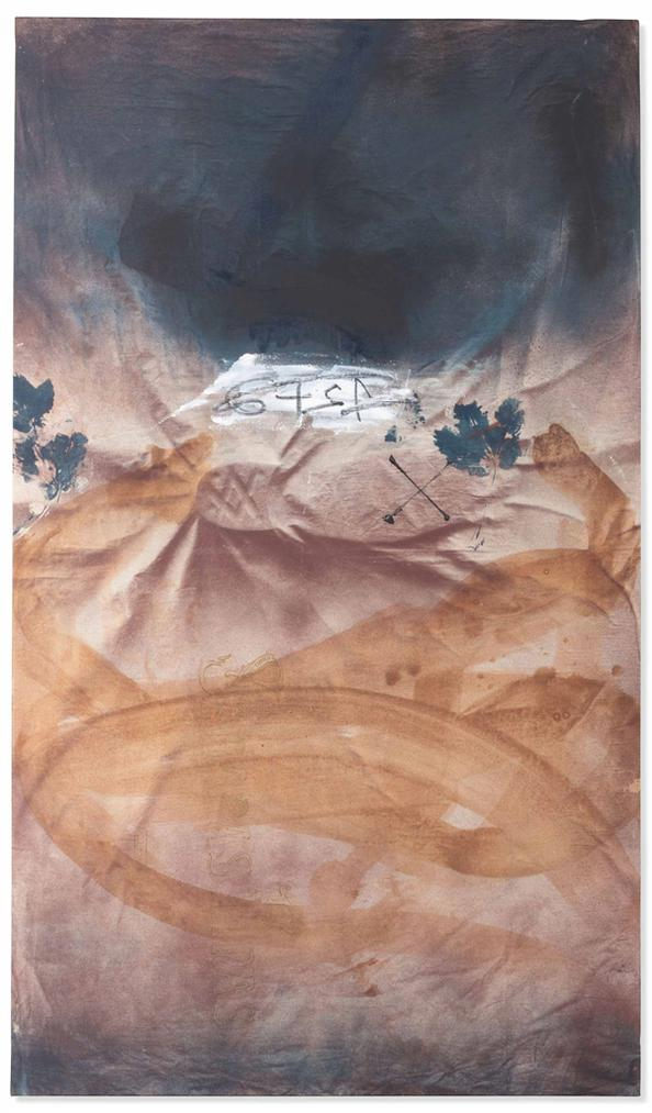 Antoni Tapies-Empremtes De Fulla (Imprints Of A Leaf)-1982