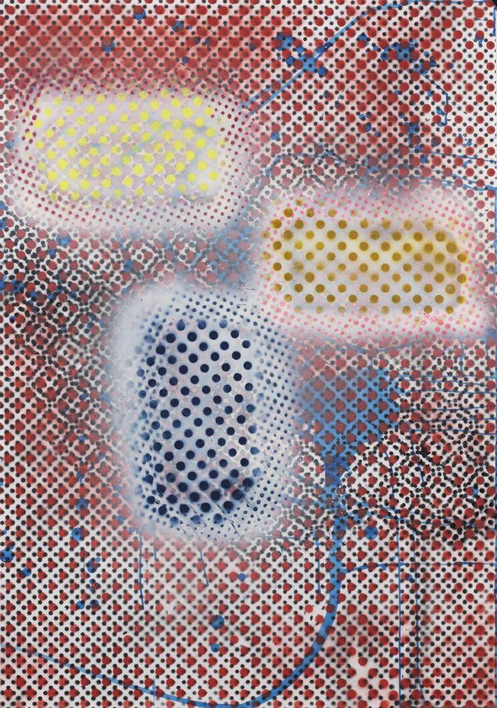 Sigmar Polke-Untitled (Monchengladbach 1987)-1987