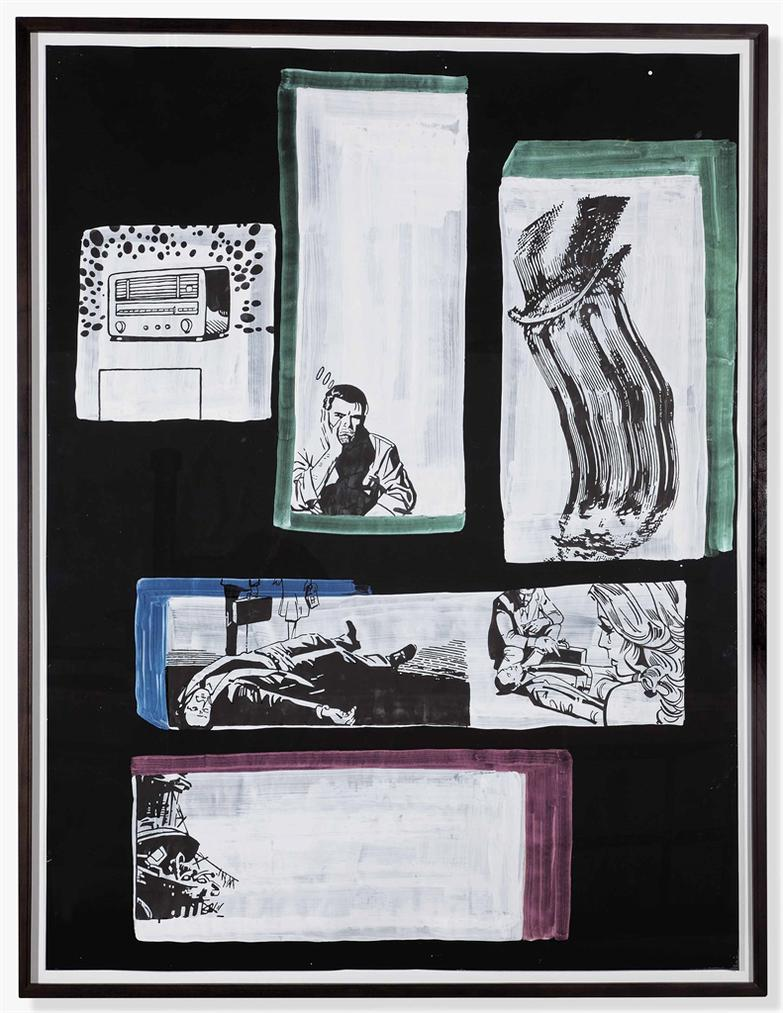 Sigmar Polke-Untitled (Comics)-2002