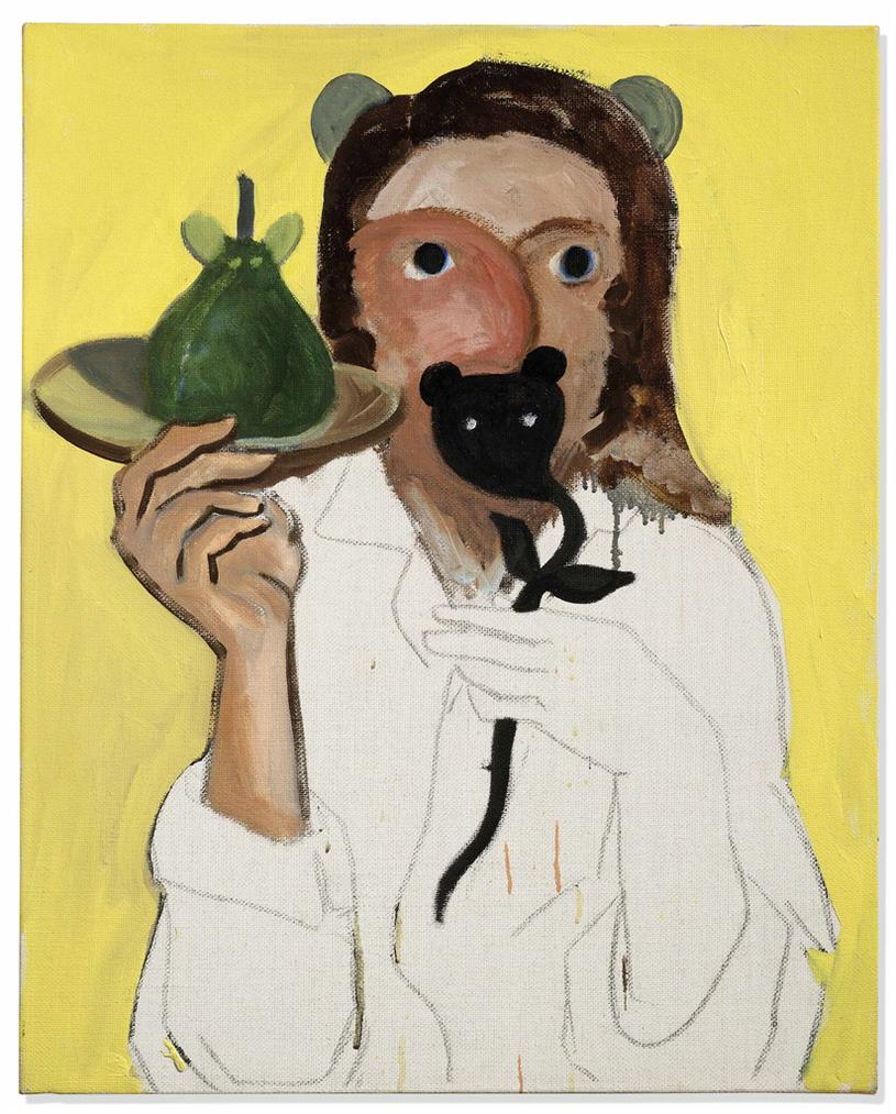 George Condo-Who Am I, Where Am I And Who Are They-1991