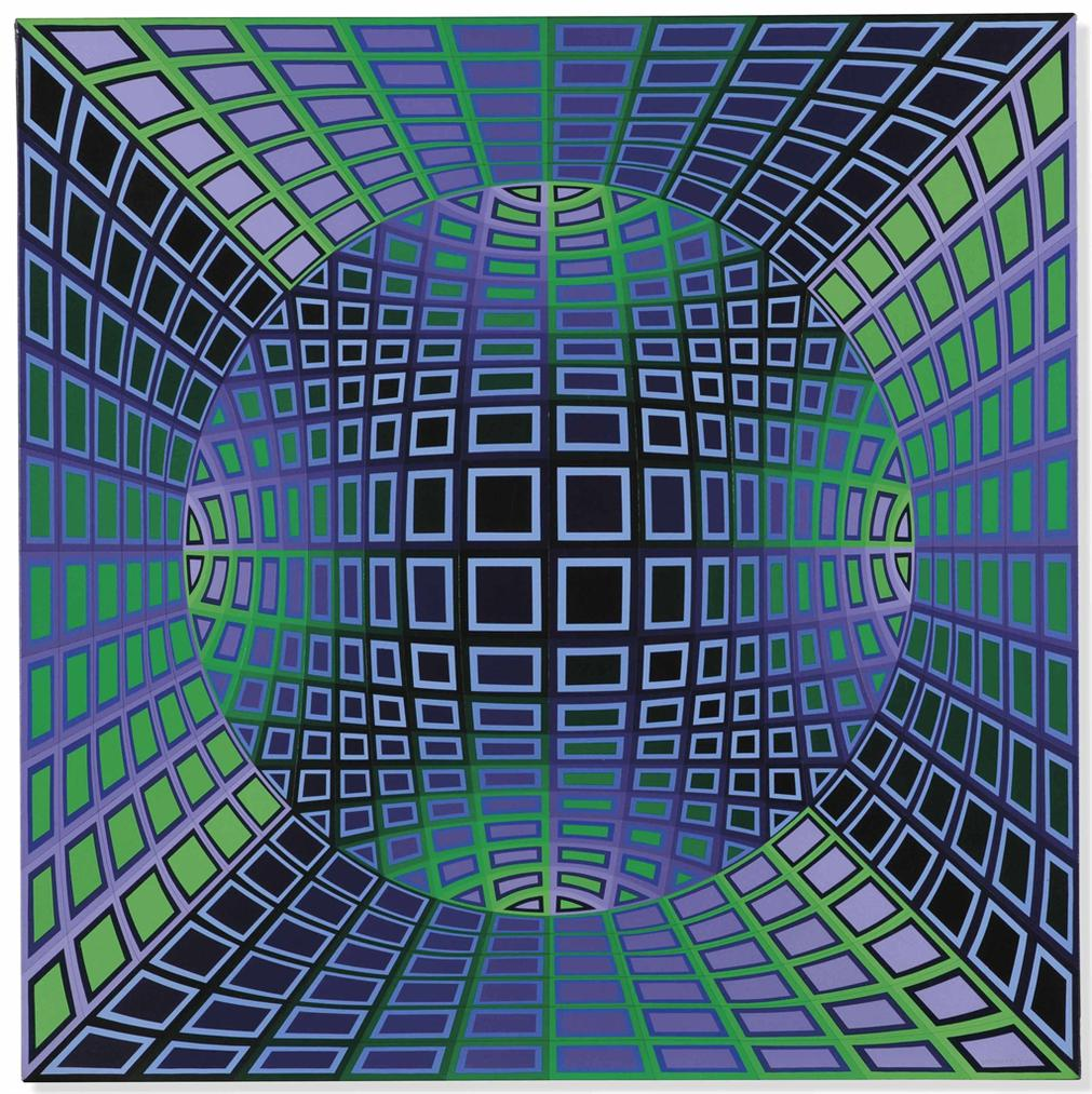 Victor Vasarely-Taler-If-1978