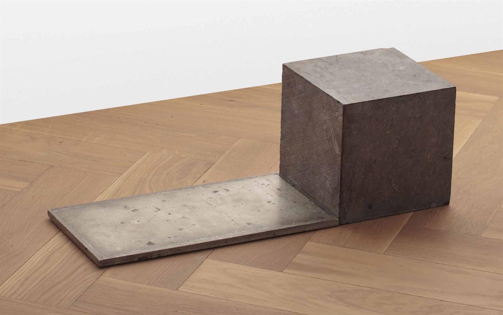 Carl Andre-Belgica Tin Step-1990