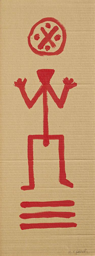 A.R. Penck-Untitled-1979
