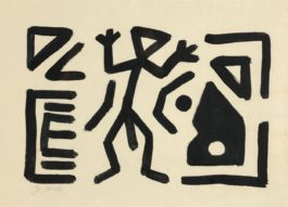 A.R. Penck-Untitled-1986