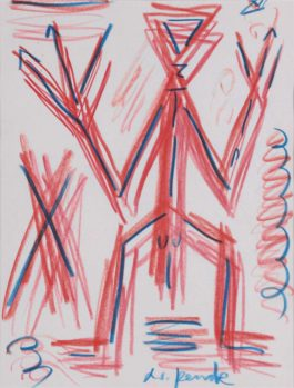 A.R. Penck-Untitled-1995