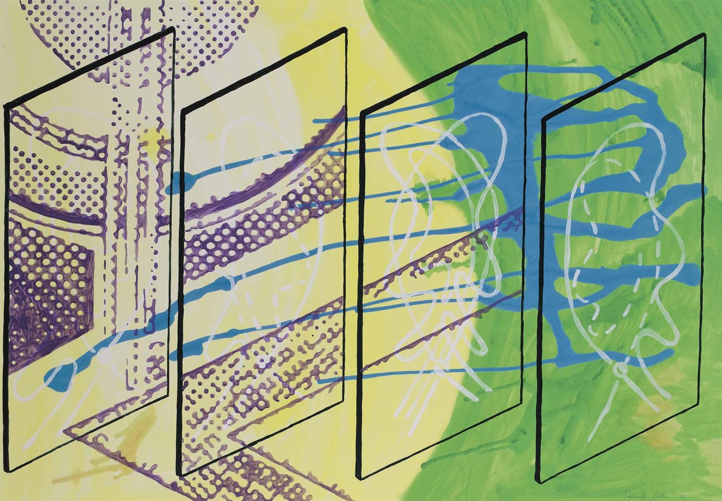 Sigmar Polke-Untitled (Monchengladbach 1992)-1992