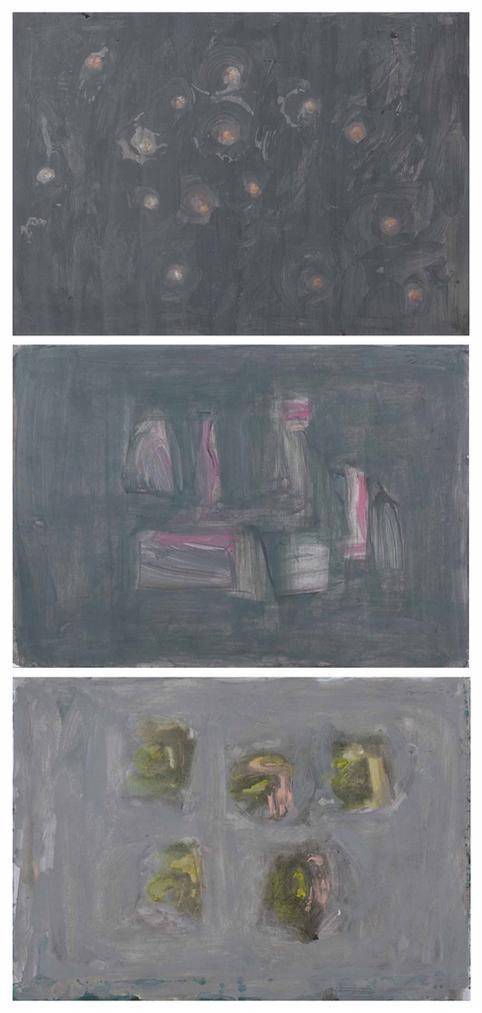 Gunther Forg-(i) Untitled; (ii) Untitled; (iii) Untitled-1996