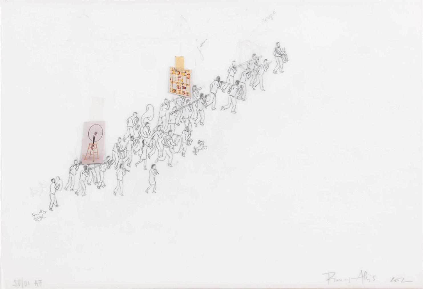 Francis Alys-Untitled (The Procession)-2002