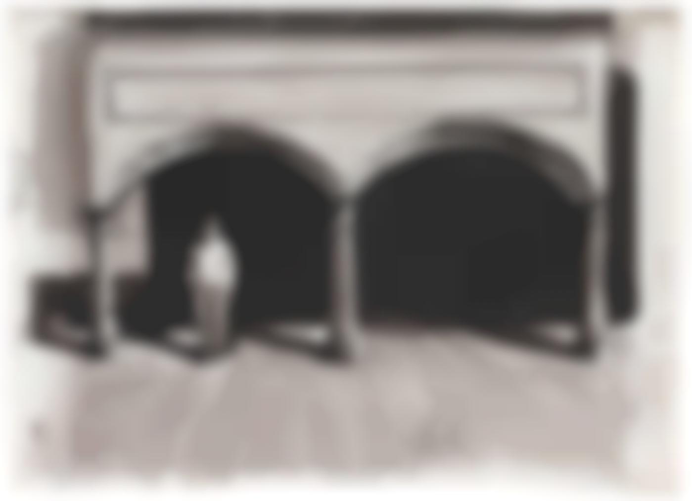 David Claerbout-Man Under Arches (Study)-2000