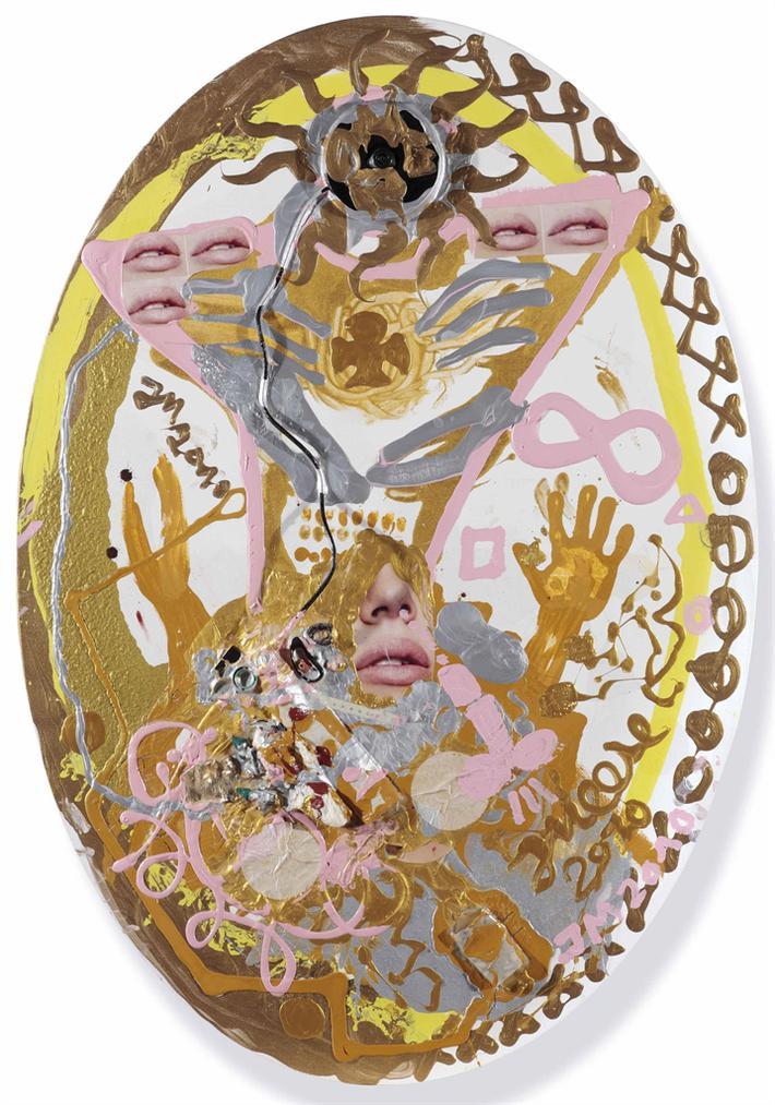 Jonathan Meese-Totalstes Hotbabyhot De Totalneutralitat Im Kollosseum De Large Der Kunst-2010