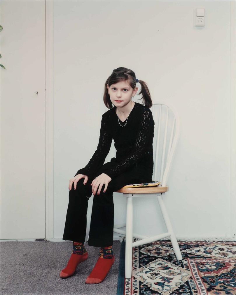 Rineke Dijkstra-Almerisa, Wormer, The Netherlands, February 21, 1998-1998