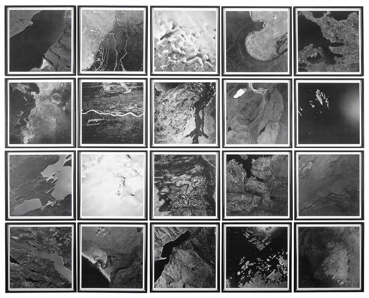 Olafur Eliasson-The Cartographic Series II-2002