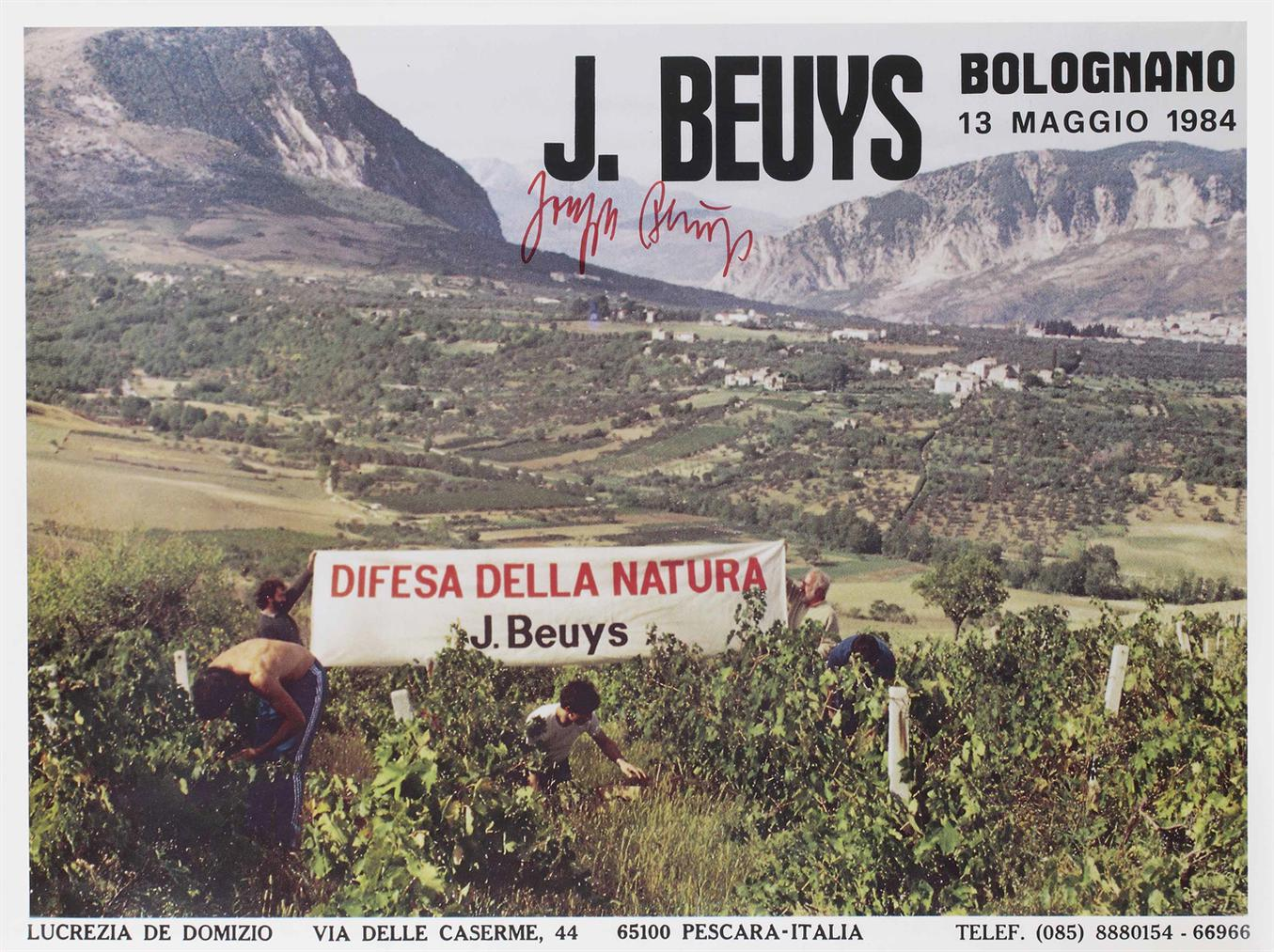 Joseph Beuys-Difesa Della Natura (Defence Of Nature)-1984
