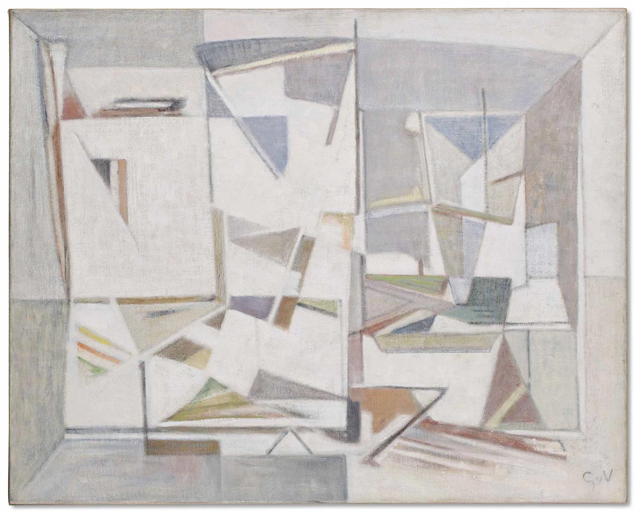 Geer Van Velde-Composition-1956