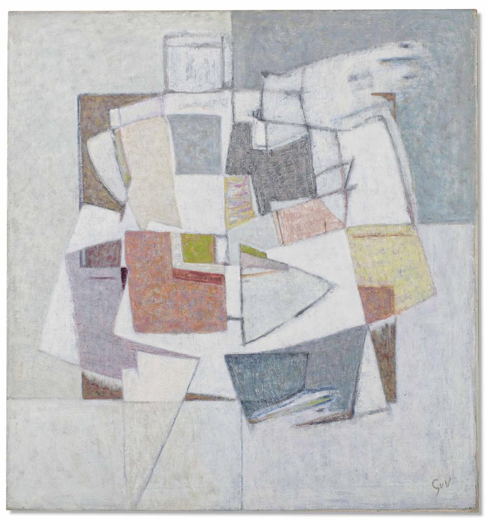 Geer Van Velde-Composition-1958