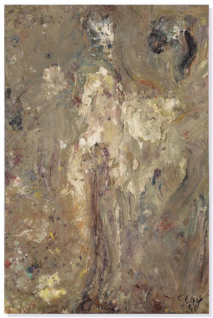 Eugene Leroy-Nu (Nude)-1989