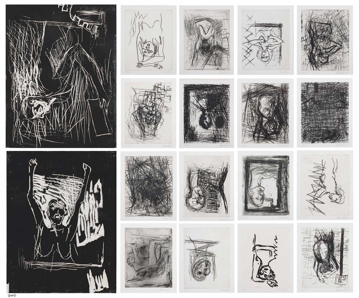 Georg Baselitz-Das Strassenbild (The Streetscape)-1981