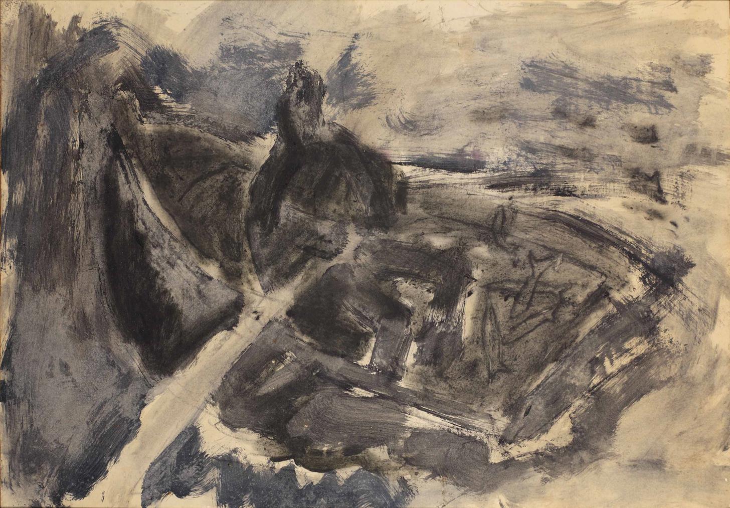 Miquel Barcelo-Untitled (Pecheurs En Barque)-1984