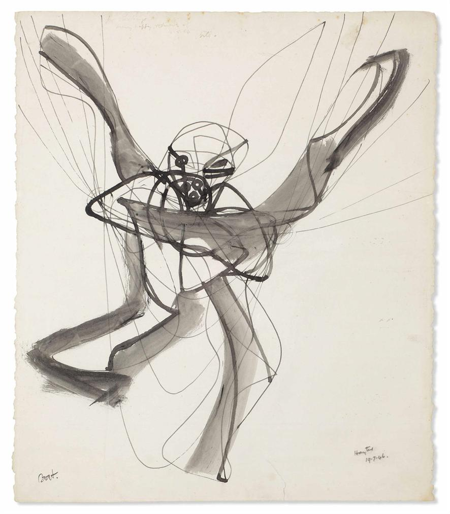 Stanley William Hayter-Bat-1946