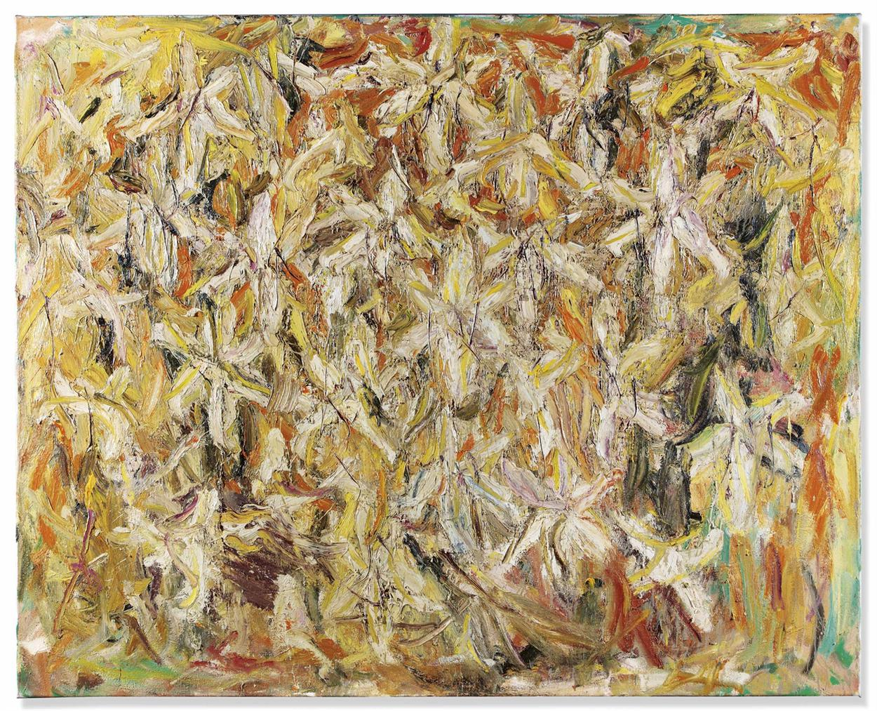 Marc Mulders-Witte Lelies/Herfst (White Lillies/Autumn)-1994