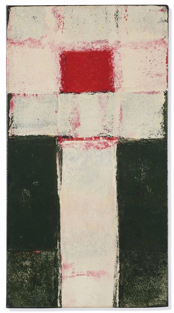 J. C. J. Van Der Heyden - Rood-Wit-Groen (Red-White-Green)-1964