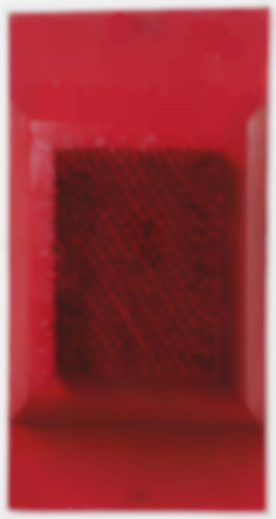 Bernard Aubertin-Tableau Clous (Nail Painting)-1962