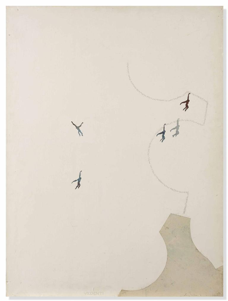 Alighiero Boetti-Untitled (Passepartout Ovvero La Chiave Universale...) (Skeleton Key, Or Rather The Universal Key...)-1985