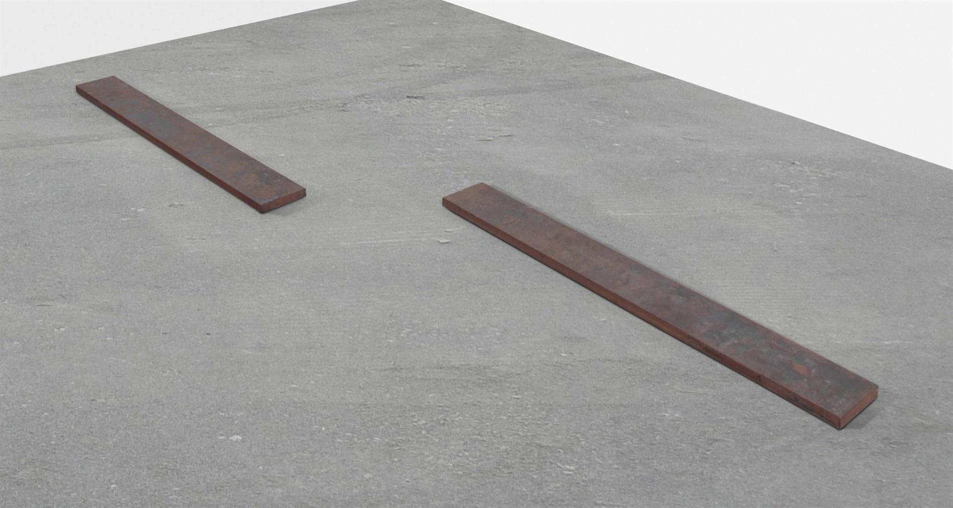 Ulrich Ruckriem-Rechteckige Eisenplatte (Rectangular Iron Plate)-1976