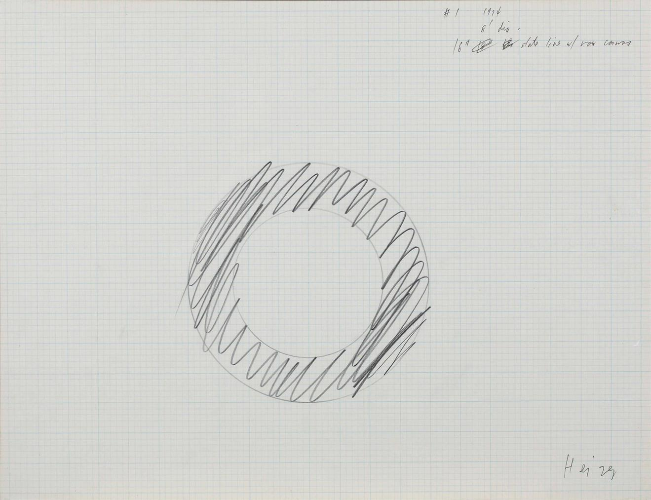Michael Heizer-Untitled (Study For No. 1)-1974