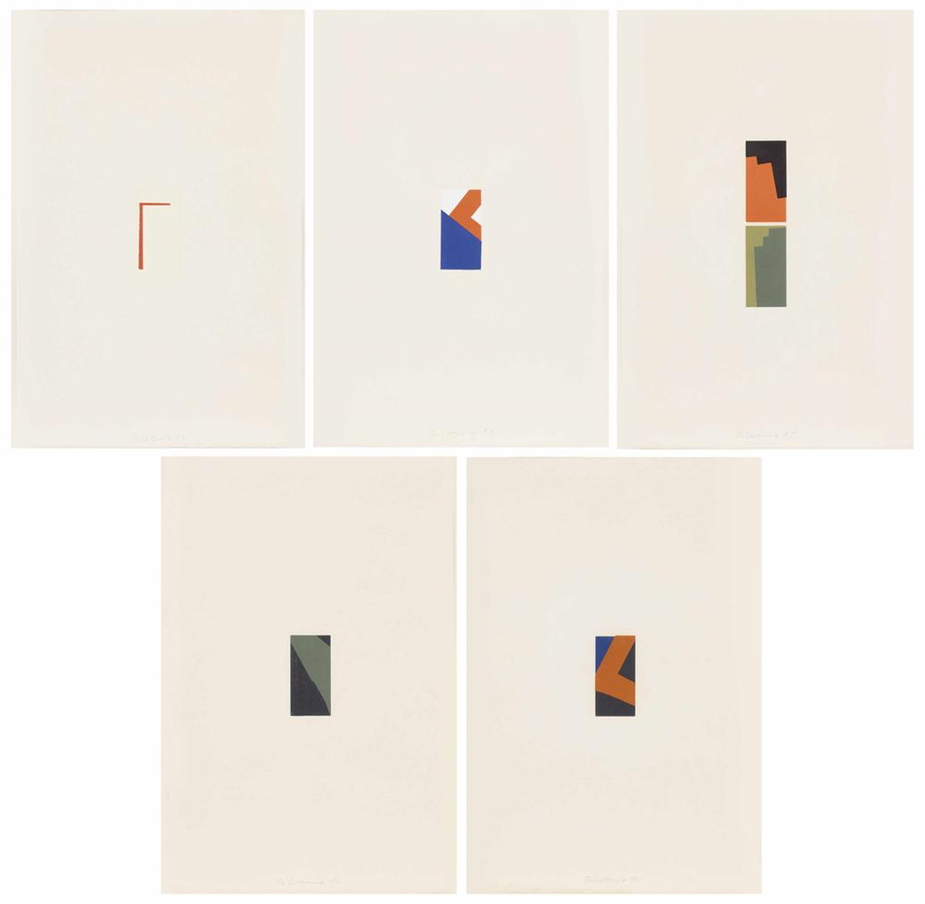 Blinky Palermo-Funf Miniaturen (Five Miniatures)-1972