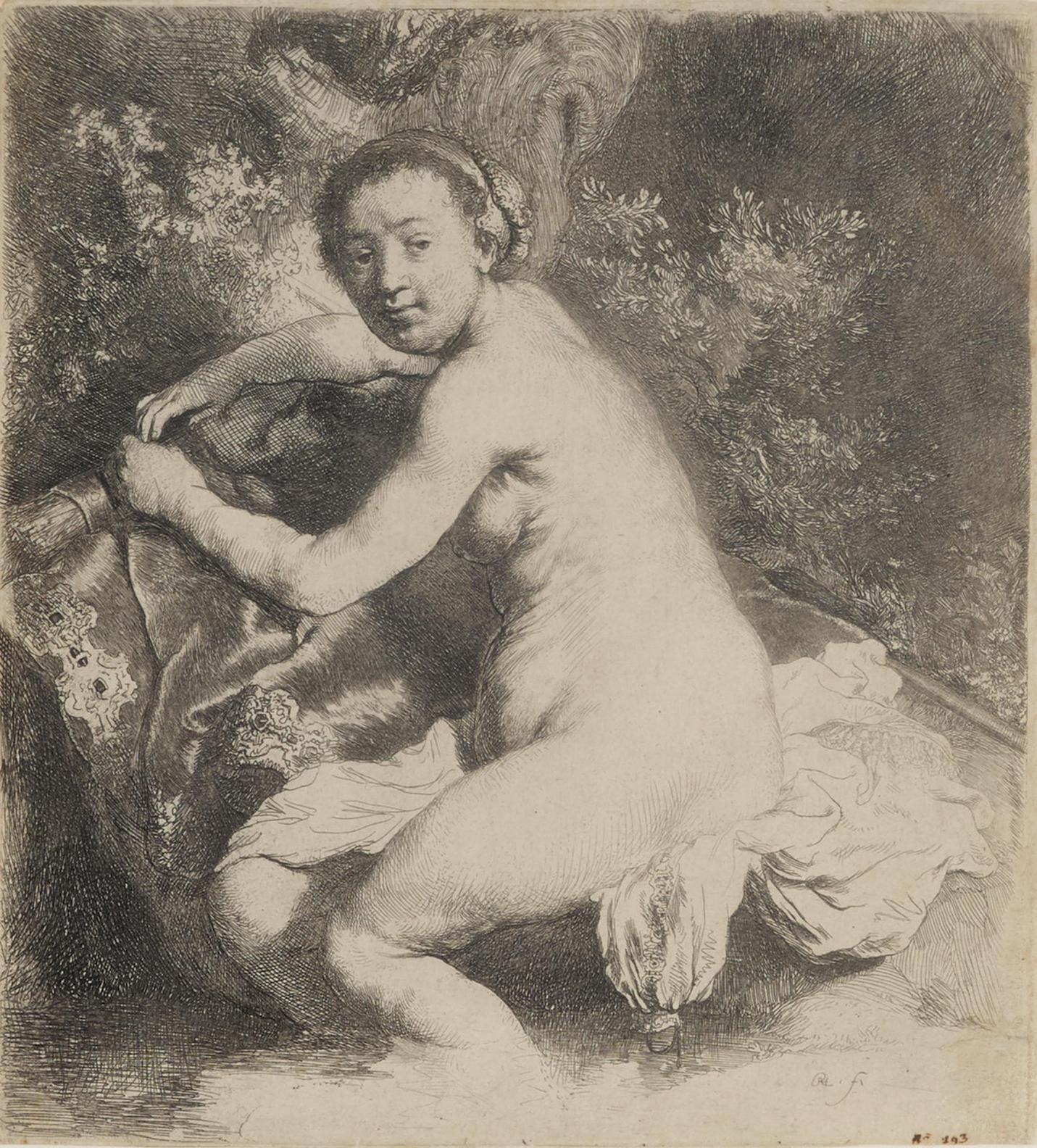 Rembrandt Harmensz Van Rijn - Diana At The Bath (B. 201; H. 42; New Holl. 89)-1631
