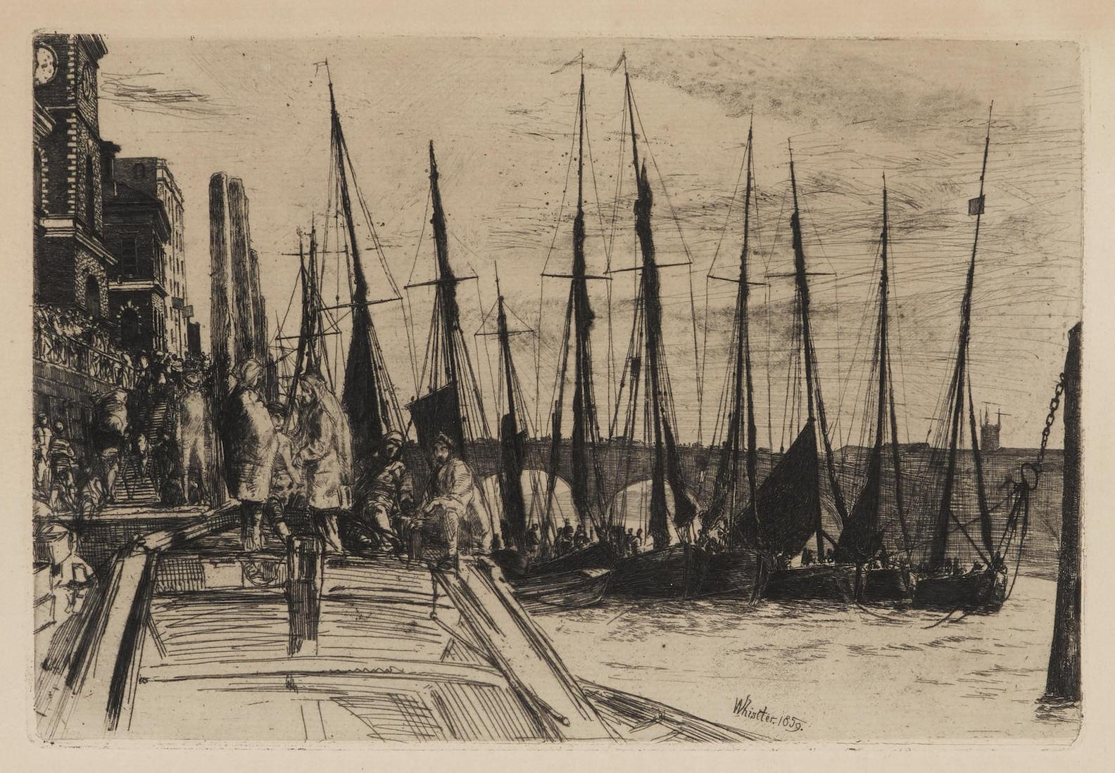 James Abbott McNeill Whistler-Billingsgate (K. 47)-1859