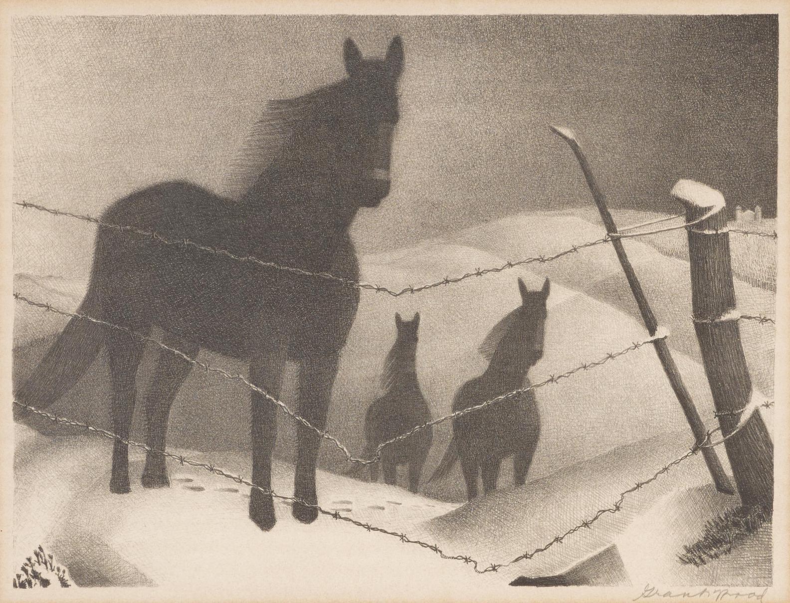 Grant Wood-February (C. 17)-1940