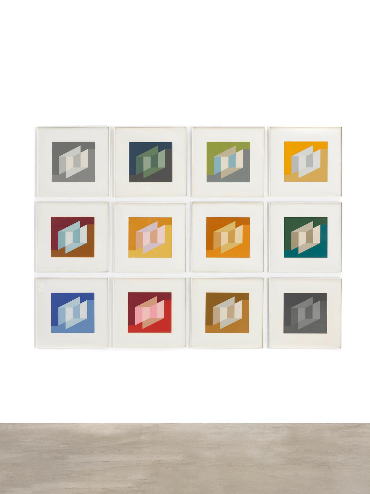 Josef Albers-Never Before (D. 231)-1976