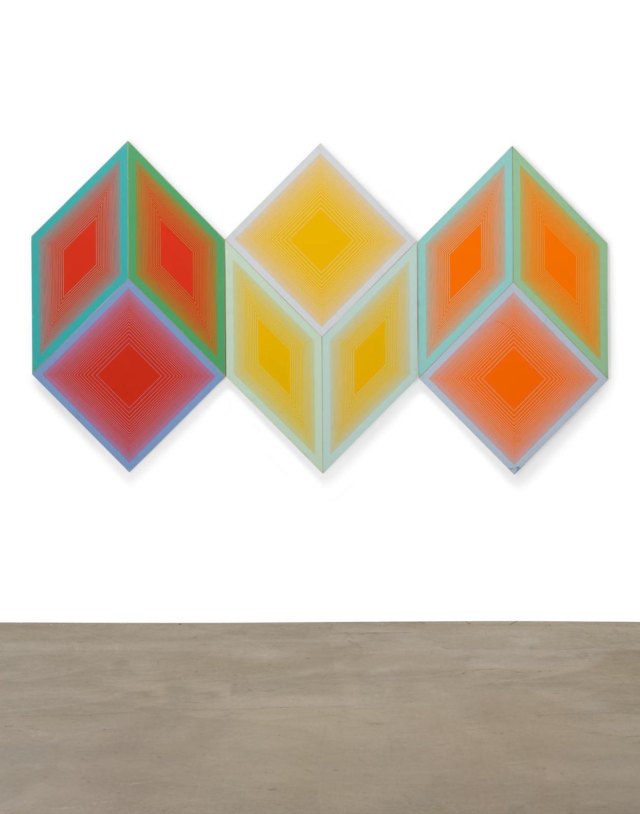 Richard Anuszkiewicz-Volumes: A Variable Multiple-1970