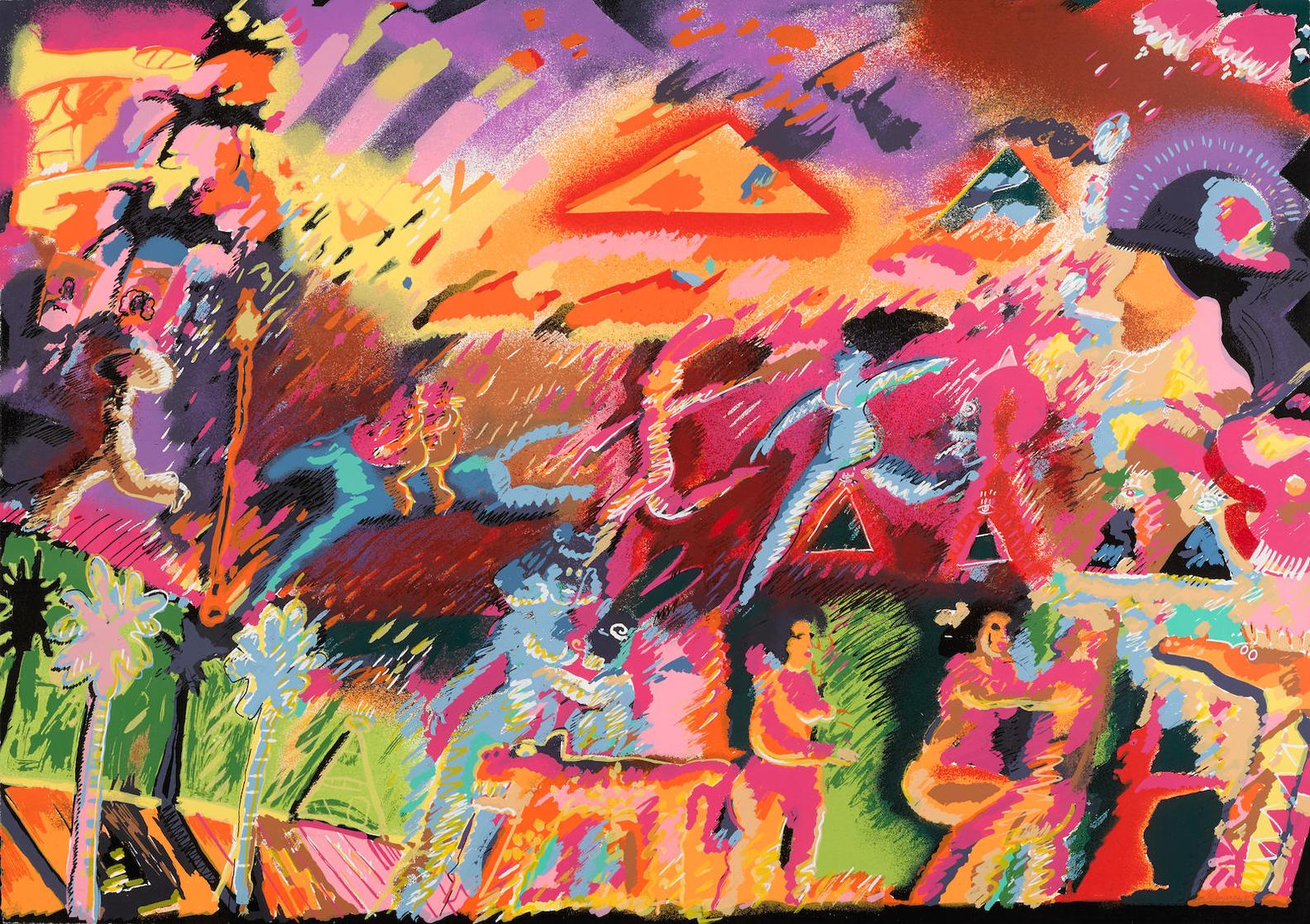 Carlos Almaraz-What Ever Happened To The Inca?-1985
