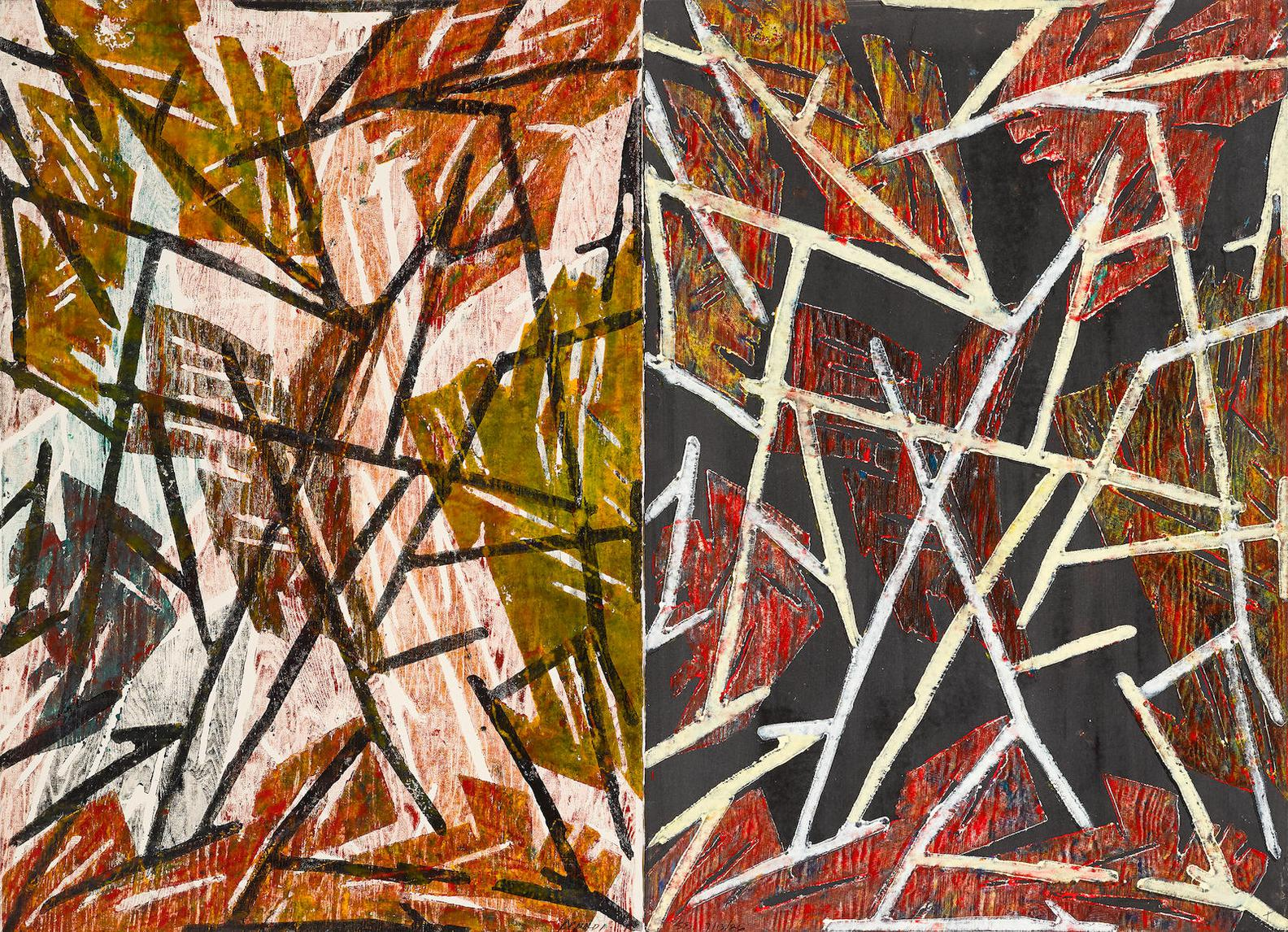 Charles Arnoldi-Untitled (Santa Barbara)-1986