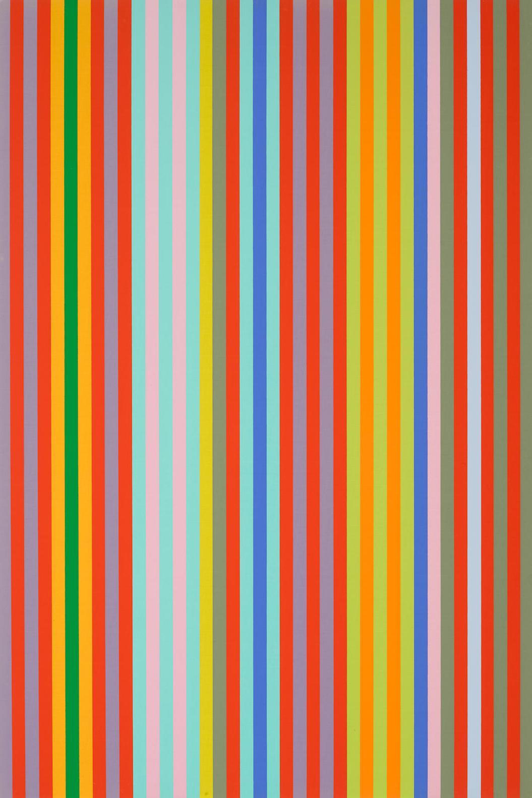Gene Davis-Yoyo, From Series II Portfolio-1969