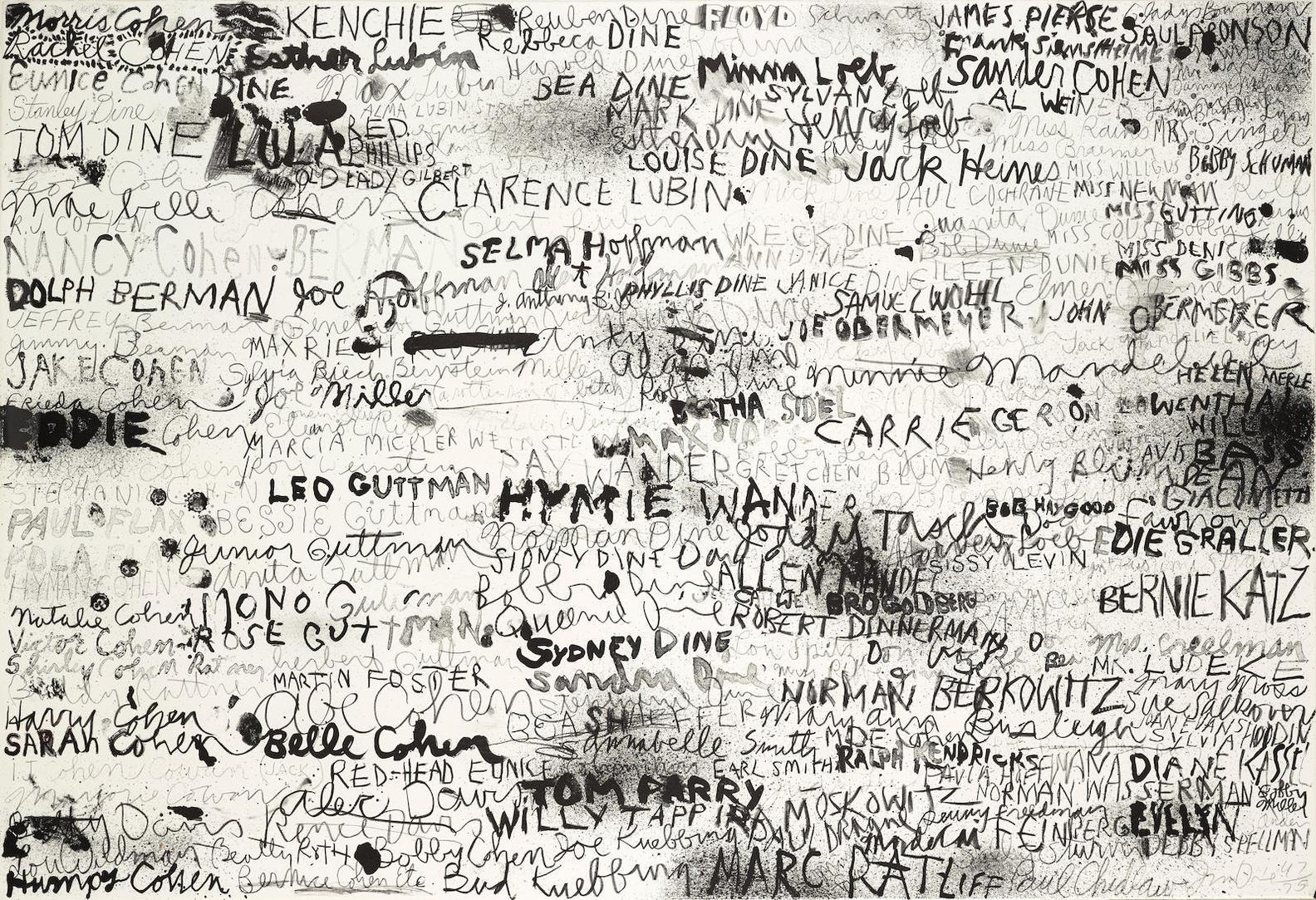 Jim Dine-Cincinnati I (Galerie Mikro 50)-1969