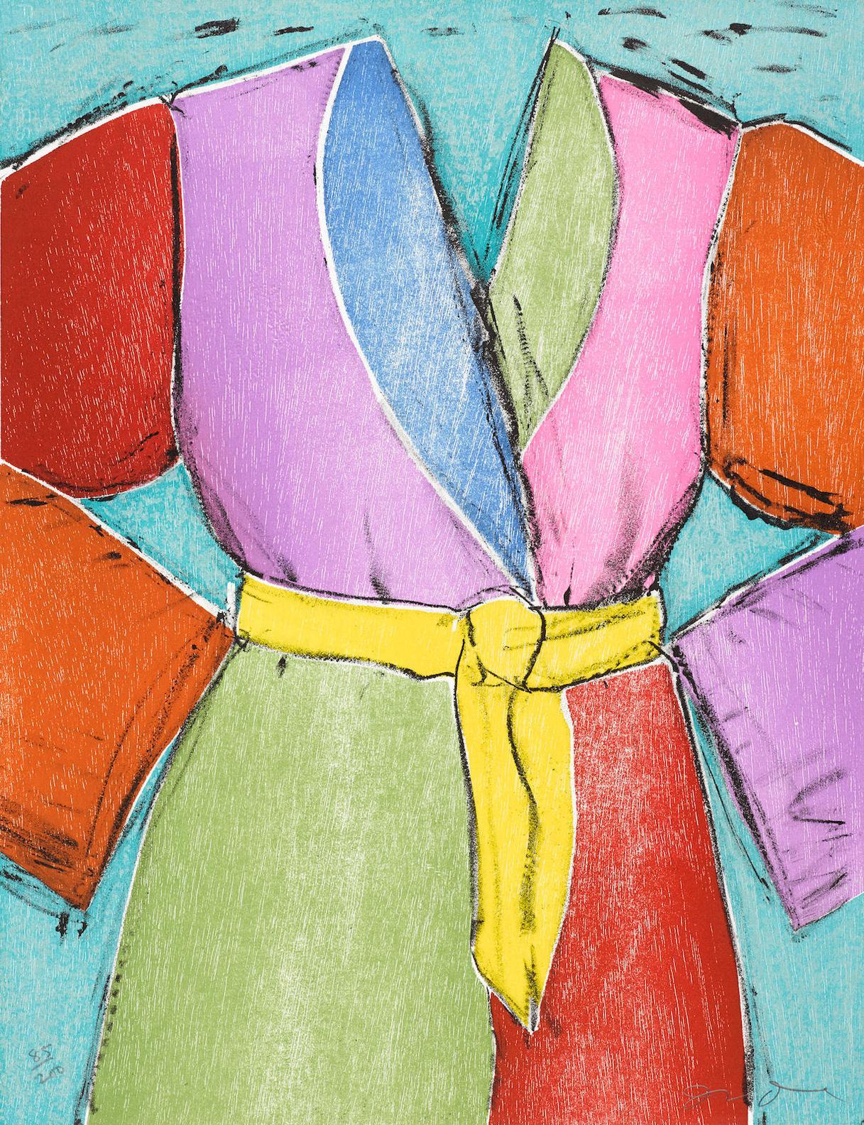 Jim Dine-Yellow Belt-2005
