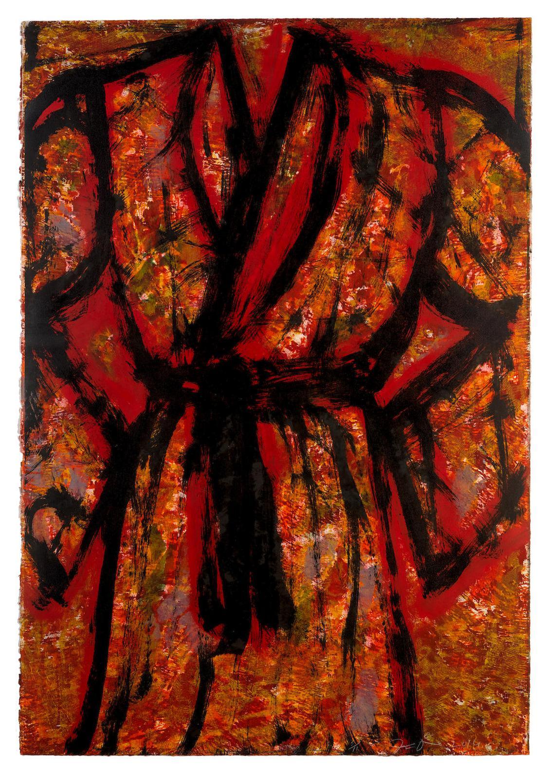 Jim Dine-Zein Robe-2014