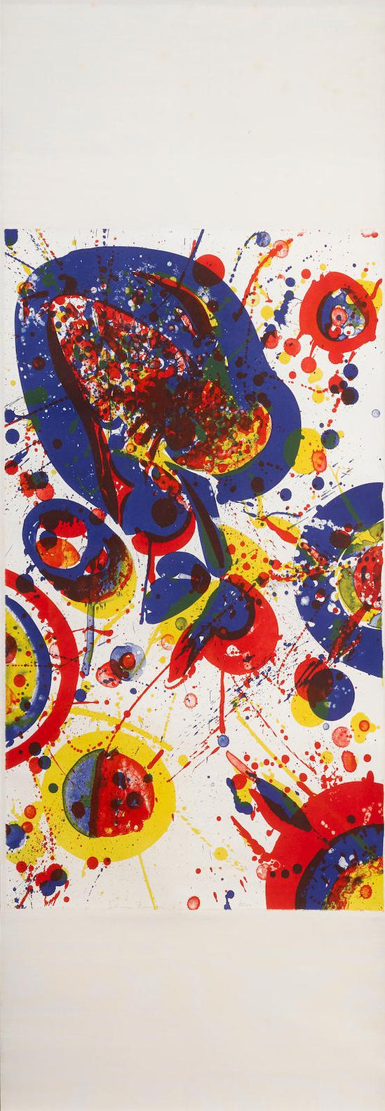 Sam Francis-An Other Set-X, From The Pasadena Box (L. 65; Sf-73)-1963