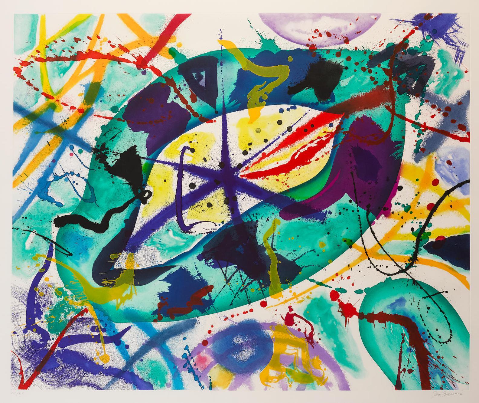 Sam Francis-Trietto 1 (Sfe-074Rc)-1991