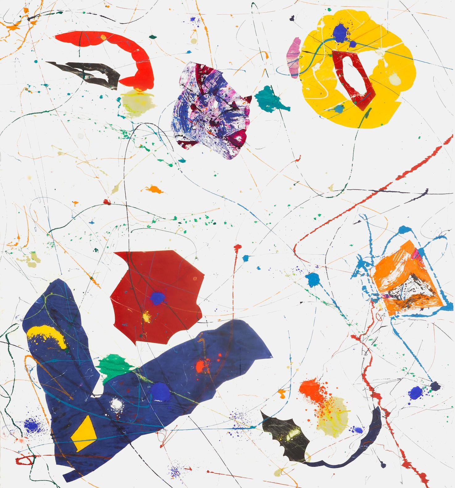 Sam Francis-Untitled (Sfm84-102)-1985