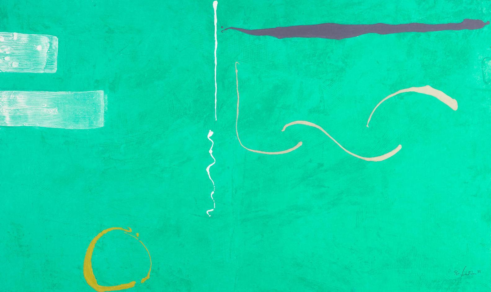 Helen Frankenthaler-Tahiti (H. 168)-1989