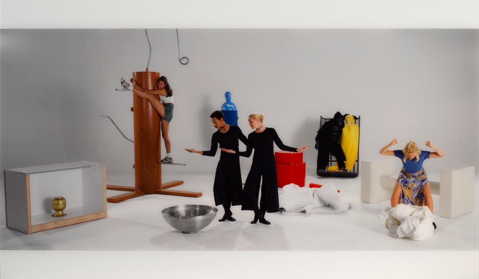 Mike Kelley-Test Room Containing Multiple Stimuli Known To Elicit Curiosity And Manipulatory Responses (Full Cast) [2]-2001