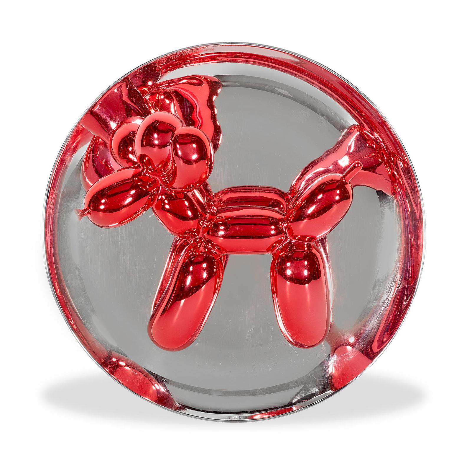 Jeff Koons-Balloon Dog - Red-1995